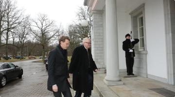 Toomas Hendrik Ilvese kohtumine Edgar Savisaarega