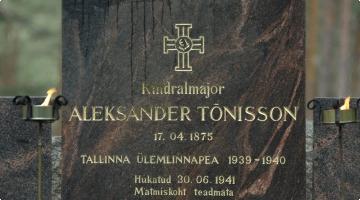 Aleksander Tõnissoni austamine
