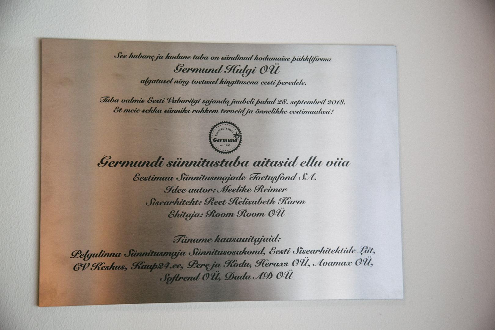 1c9a564c700 FOTOD: Pelgulinna sünnitusmajas avati Eestis ainulaadne kodune - Kõik