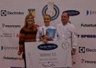 Noorkokk_27.okt_foto SA Innove (16)_Noorkokk2016 Kristiina Sireli koos juhendaja (paremal) ja EPÜ presidendi R. Visnapuuga.jpg