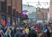 Helsingi politsei hoiatab: uusaastaöö sündmused võivad tänasel pagulaste kogunemisel korduda
