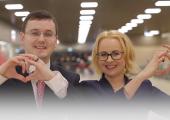 VIDEO! Lasnamäe linnaosa valitsus soovib kõigile kaunist sõbrapäeva!