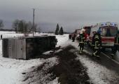 Tallinna-Pärnu maanteel juhtunud bussiõnnetuses sai viga kolm reisijat