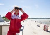 Tallinna supelrandades alustavad tööd rannavalvurid