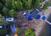 Pühajärve Jaanitule esimene päev pani tuhanded peokülalised ühiselt tantsima