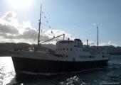 Lennusadamas näeb Norra tuletornide teeninduslaeva Gamle Oksøy