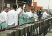 FOTOD! Tallinnas grilliti 25 meetrit šašlõkki!