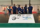 Eesti robot-jalgpallurid võistlevad Saksamaal