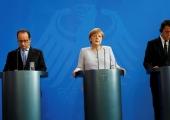 Itaalia, Saksamaa ja Prantsusmaa liidrid arutavad Euroopa tulevikku