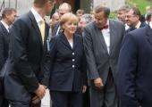 Merkel kohtus Eesti ja Saksa sõduritega