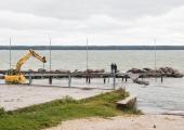 Tuukrid süvendasid Rukkirahu laevakanalit öösel 20 sentimeetri võrra
