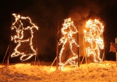 Lasnamäel toimub suurejooneline tuleskulptuuride festival