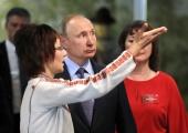 Putin saabus Marimaale