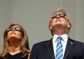 FOTOD! Täielik päikesevarjutus köitis ameeriklaste tähelepanu