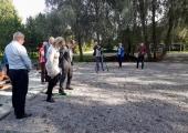 Pirita Spordikeskus avas petangiväljaku