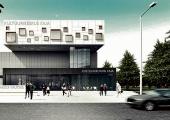 Mustamäele kerkib 300-kohalise saaliga uus Kaja kultuurikeskus