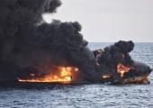 Uppunud Iraani tankeri naftaleke on Pariisi suurune