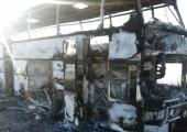 Kasahstanis süttinud bussis hukkus 52 inimest