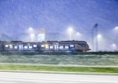 Saksa riiklik rongifirma peatas tormi tõttu kõik pikamaasõidud