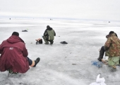 Tänasest on lubatud minna jalgsi Peipsi järve jääle
