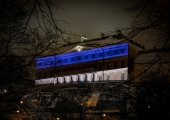 DROONIVIDEO! Stenbocki maja värvus EV100 puhul sinimustvalgeks
