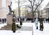 Reaalkooli aulas tähistasid Gustav Adolfi Gümnaasium, Tallinna Reaalkool ja Jakob Westholmi Gümnaasium ühisaktusel Vabariigi aastapäeva