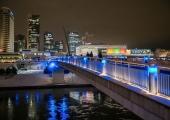 FOTOD! Eesti 100. sünnipäeval värvub Vilnius sinimustvalgeks