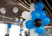 FOTOD! Tallinna bussijaam värvus sinimustvalgeks