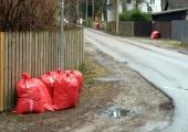 Lehekottide kampaania hoiab linna puhtana