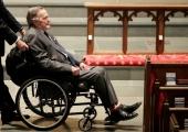 USA ekspresident Bush on pärast haiglasse sattumist toibumas