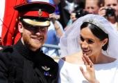 Prints Harry ja Meghan Markle abiellusid