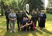 Saatses avati turistidele uudistamiseks EV100 piiripost
