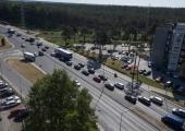 Järvevana teel on liikluskiirust piiratud 30 km tunnis