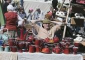 FOTOD! XIX Keskaja Päevade Meistrite Turul sai kauplemine ja peomeeleolu hoo sisse