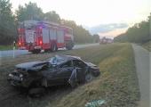 Tartumaal hukkus teelt välja sõitnud auto juht