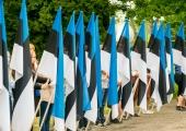 Esmaspäeval on taasiseseisvumispäeva puhul Eestis lipupäev