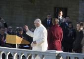 FOTOD! Paavst jõudis Tallinnasse ja temast sai e-resident