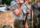 Kuperjanovlased harjutasid kindlustatud positsioonide ründamist