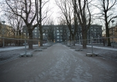 Tallinna Politseiaia parki kerkib Lenderite mälestusmärk