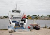 Tugev tuul häirib laevaliiklust Kihnu liinil