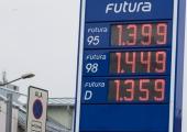 Kütusehinnad langesid Balti pealinnadest nädalaga vaid Tallinnas