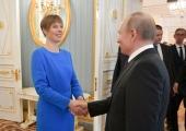 Kaljulaid ja Putin arutasid kahe riigi omavahelisi suhteid