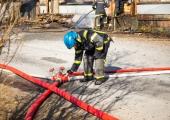 Päästjad jätkavad Uikala prügila põlengu kustutamist