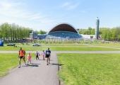 GALERII JA VIDEO! Tallinna lauluväljak ootab lauluga suurt juubelilaulupidu