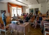 GALERII: Kesklinna valitsus tutvustas Kadrioru elanikele Poska tänava rekonstrueerimise eskiise
