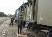 """Soomusrong """"Wabadus"""" peatub Tallinnas Liiva raudteejaamas 25.-28. juunini"""