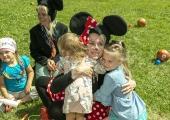 GALERII: Löwenruh´ pargis mängisid lastega Minni ja Miki