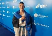 Karateka Pavel Artamonov võitis Euroopa Mängudelt pronksmedali