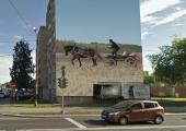 Kesklinnas kaunistatakse veel üks maja supergraafikaga