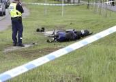 Viljandimaal hukkus teelt välja sõitnud mootorrattur